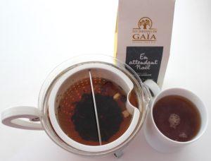 tasty life magazine lifestyle équilibré thés de Noël innovations boissons fêtes jardin de Gaïa infusé