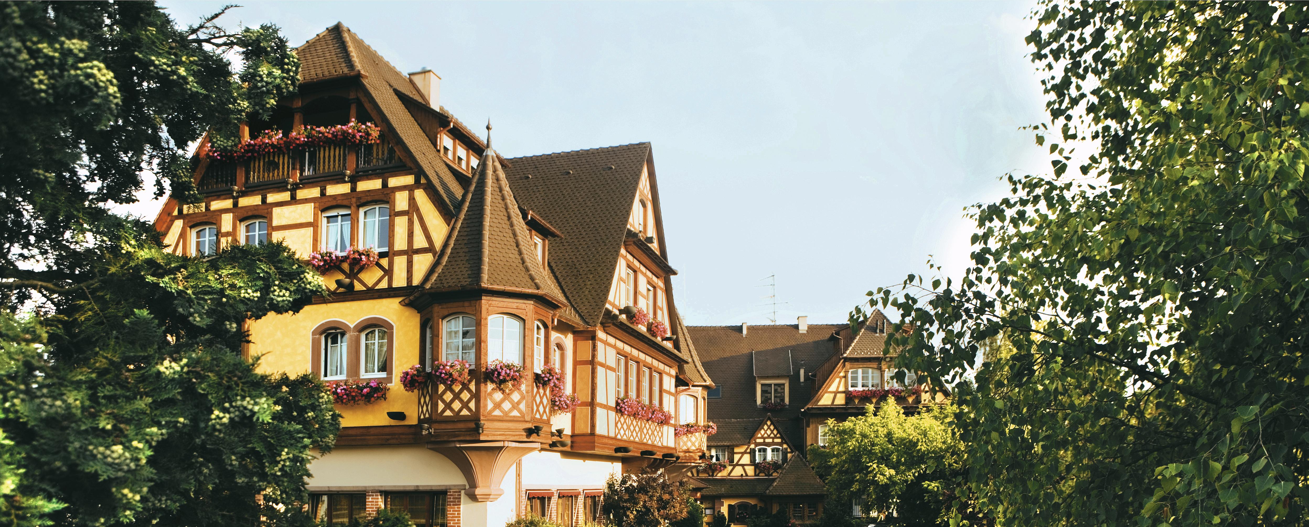 Tasty Life Magazine lifestyle équilibré palace spa hotel alsace obernai wucher séjour concept route des vins colombages vue de l'hôtel