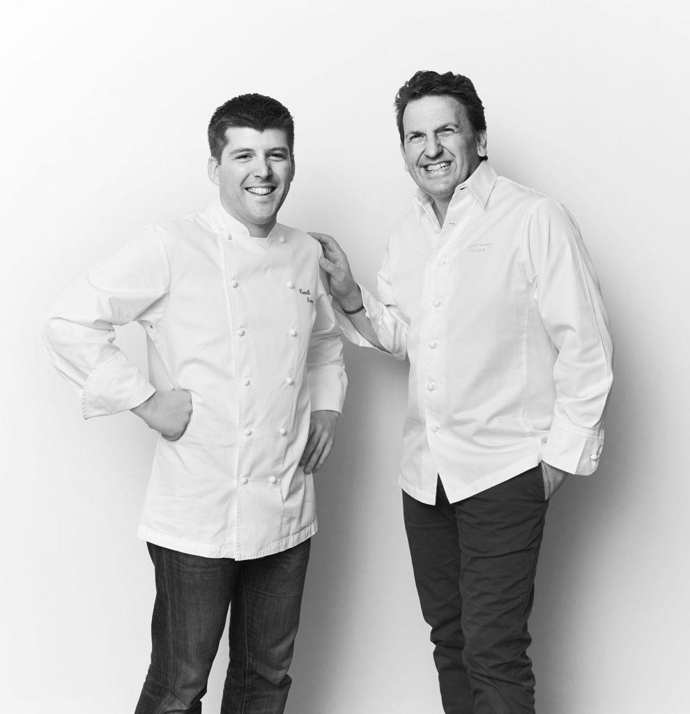 Tasty Life Magazine lifestyle équilibré Christophe Felder Camille Lesecq pâtisserie livres portrait noir et blanc