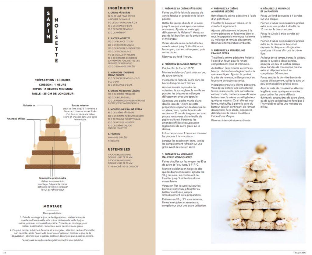 Tasty Life Magazine lifestyle équilibré Christophe Felder Camille Lesecq pâtisserie livres recette bûche sapin noisettes
