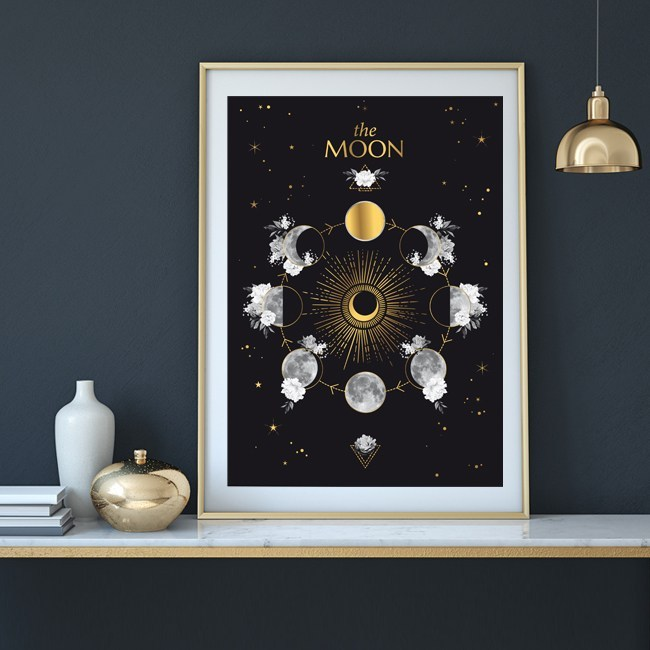 affiche-moon-or-chic-and-pepper tasty life magazine lifestyle équilibré